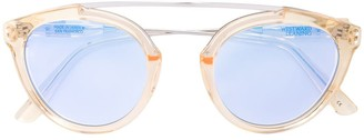 Westward Leaning Flower Browns 2 sunglasses