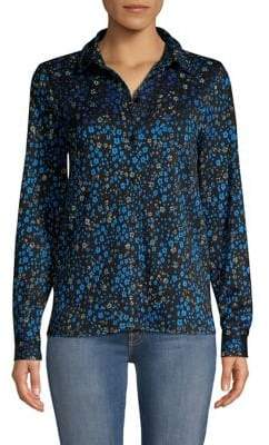 Stine Goya Lucian Floral Button-Down Blouse
