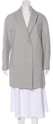 Brunello Cucinelli Wool & Cashmere-Blend Short Coat