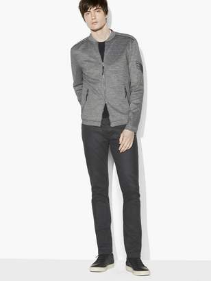 John Varvatos Military Knit Jacket
