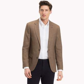 Tommy Hilfiger Fitted Two-Button Suit Blazer