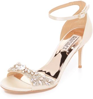 Badgley Mischka Bankston Sandals $235 thestylecure.com