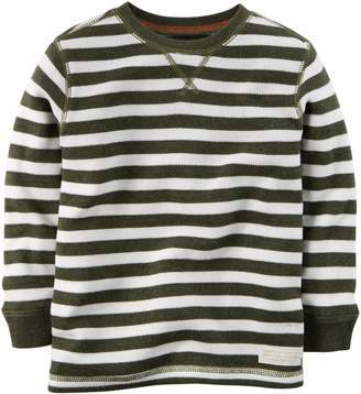 Carter's Baby Boys' Striped Thermal Shirt