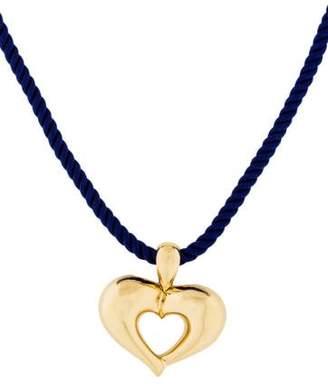 Van Cleef & Arpels 18K Heart Pendant Necklace