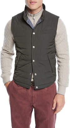 Brunello Cucinelli Men's Lightweight Padded Vest