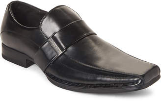 Kenneth Cole Unlisted By Black Round Table Bike-Toe Loafers