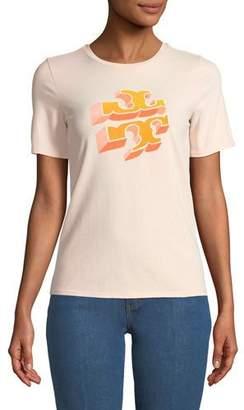 Tory Burch April Logo Graphic T-Shirt