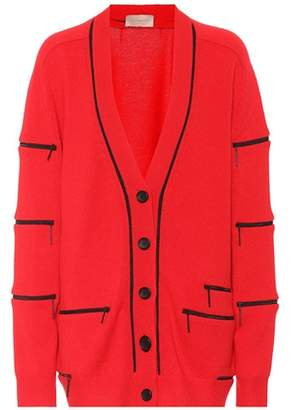 Christopher Kane Zip cashmere cardigan