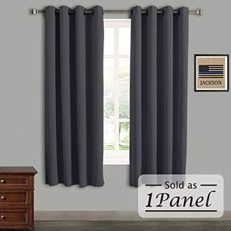 Rose Home Fashion RHF Blackout Thermal Insulated Curtain - Antique Bronze Grommet Top for bedroom & living room