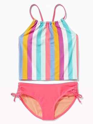 Old Navy Ruched Tankini Swim Set for Girls