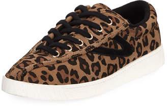 Tretorn NY Lite Leopard-Print Sneakers