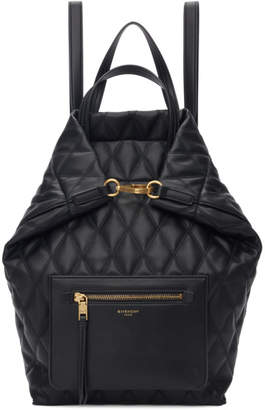 Givenchy Black Small Duo Backpack