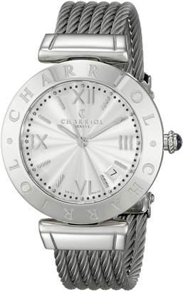 Charriol Women's AMS51001 Alexandre C Analog Display Swiss Quartz Watch