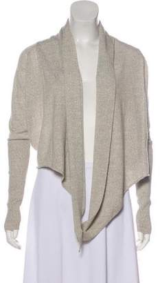 AllSaints Long Sleeve Wool Cardigan