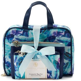 Adrienne Vittadini 3-pc. Cosmetic Bag Set $40 thestylecure.com