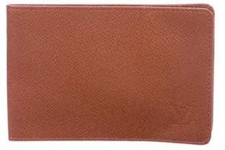 Louis Vuitton Leather Bi-Fold Wallet
