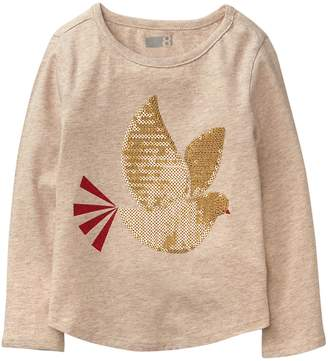 Crazy 8 Crazy8 Sparkle Dove Tee