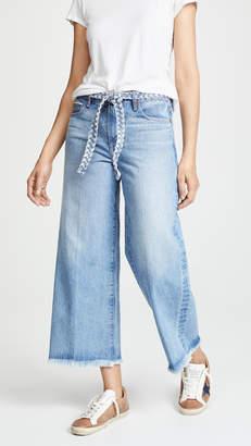 Tortoise Canni Slouchy Wideleg Crop Jeans