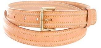 Louis Vuitton Vachetta Leather Belt