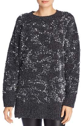 French Connection Rosemary Sparkling Sequined Sweater
