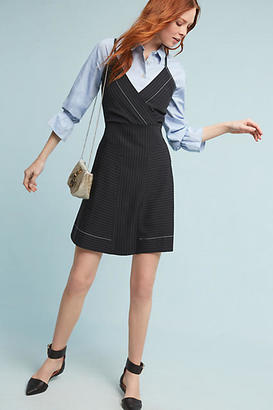 Tracy Reese Pinstriped Mini Dress $298 thestylecure.com