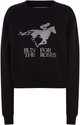 Off-White Off White Horse Embellished Sweater