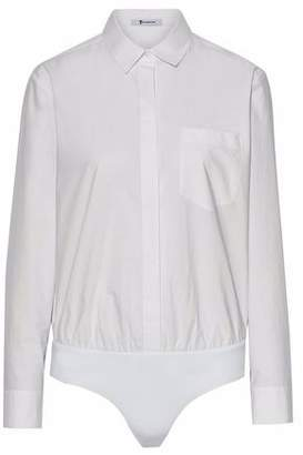 Alexander Wang Cotton-Poplin Bodysuit