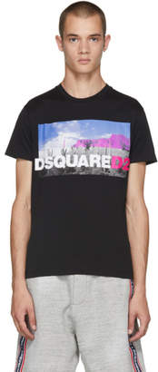 DSQUARED2 Black Chic Dan Fit T-Shirt