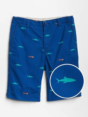 Gap Shark Print Everyday Shorts
