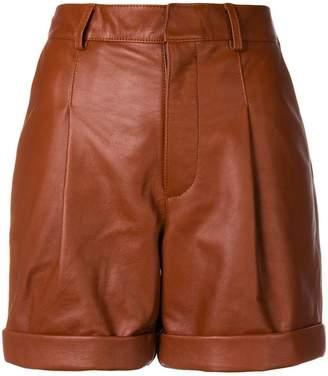Philosophy di Lorenzo Serafini cuffed pleated shorts