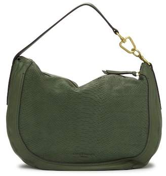 Liebeskind Berlin Troyes Snake Embossed Leather Hobo Bag