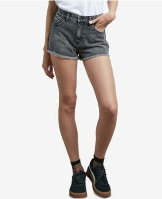 Volcom Juniors' Cotton Denim Shorts