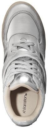Xhilaration Women's Shayenne High Top - Silver