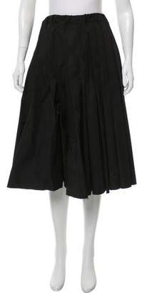 Y-3 Pleated Midi Skirt