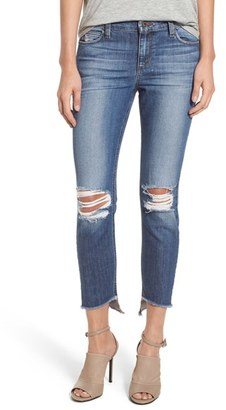 Joe's 'Collector's - Blondie' Destroyed Ankle Skinny Jeans (Coppola) $189 thestylecure.com