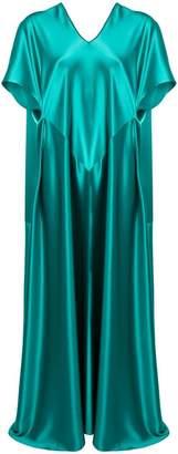 Gianluca Capannolo short-sleeve flared dress