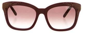 Chloé Studded Logo Sunglasses w/ Tags