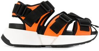 MM6 MAISON MARGIELA Safety Strap platform sandals
