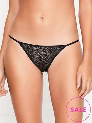 DKNY Modern Lace String Bikini Briefs