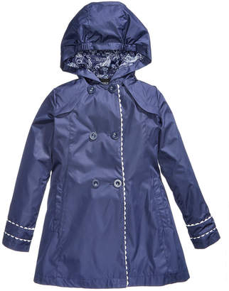 S. Rothschild Hooded Trench Coat, Toddler Girls