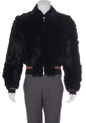 Christian Dior 2017 Giacca Stile Fur Bomber Jacket