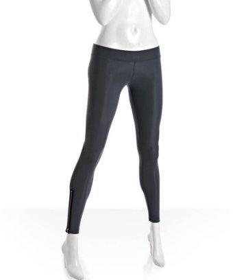 LnA charcoal stretch zip detail leggings