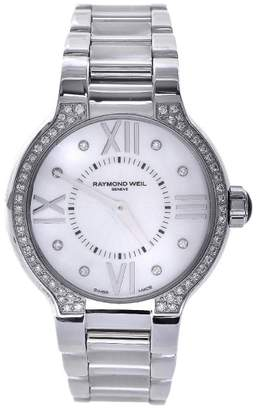 Raymond Weil 5932-STS-00995 Noemia Diamond Stainless Steel 32mm Womens Watch