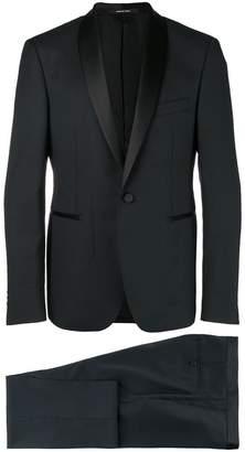Tagliatore shawl lapel suit