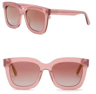 DIFF Carson Square 55mm Acetate Sunglasses