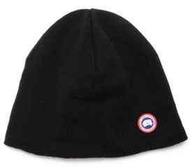 Canada Goose Merino Wool Beanie $60 thestylecure.com
