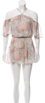 LoveShackFancy Silk Mini Dress w/ Tags