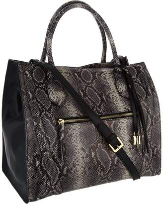 G.I.L.I. Got It Love It G.I.L.I. Italian Leather Exotic Winged Tote