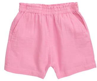 Stem Elastic Waist Shorts