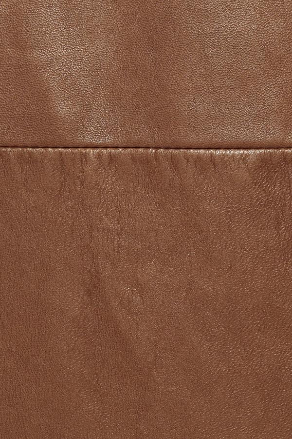 Ralph Lauren Black Label Oriana leather dress